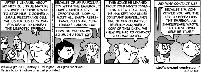 [Comic for Thursday, February 16, 2006]
