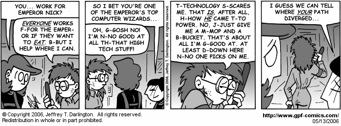 [Comic for Saturday, May 13, 2006]