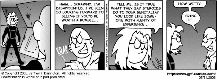 [Comic for Wednesday, May 31, 2006]