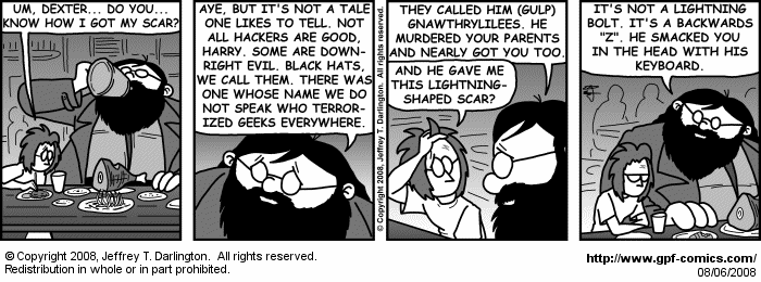 [Comic for Wednesday, August 6, 2008]