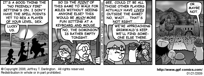 [Comic for Wednesday, January 21, 2009]