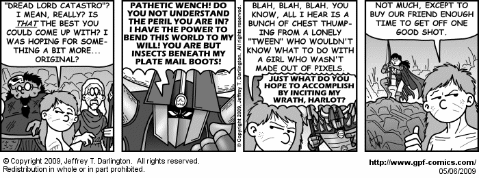 [Comic for Wednesday, May 6, 2009]