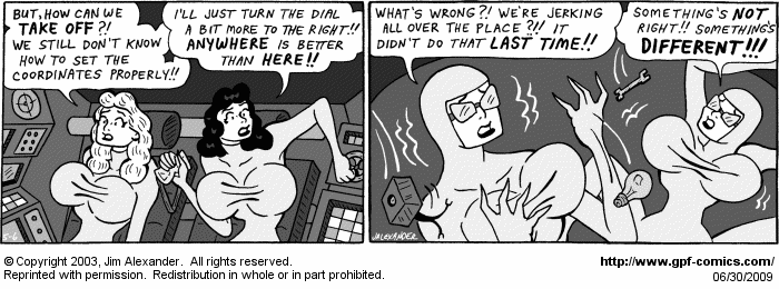 [Comic for Tuesday, June 30, 2009]