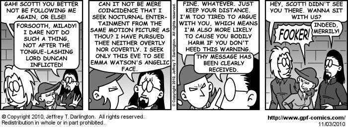 [Comic for Wednesday, November 3, 2010]