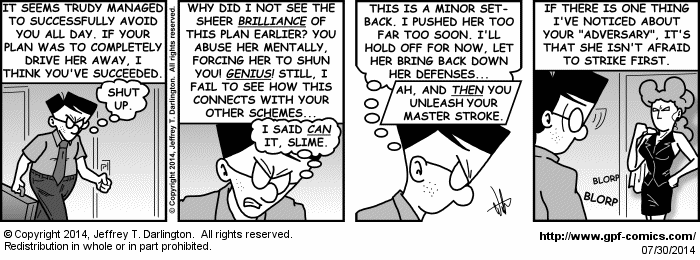 [Comic for Wednesday, July 30, 2014]
