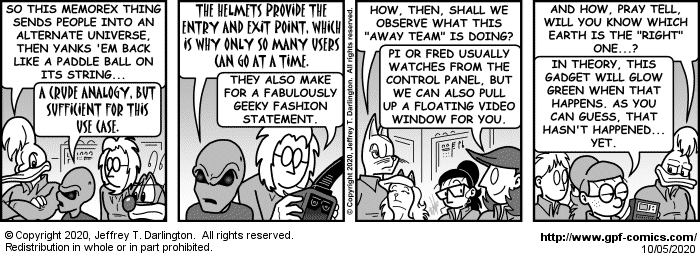 [Comic for Monday, October 5, 2020]